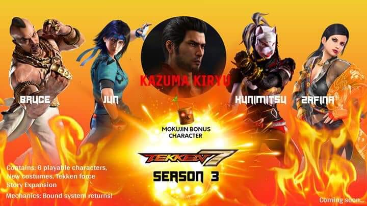 Buy Tekken 7 Season Pass 3 Dlc Cheap Secure Fast Gamethrill